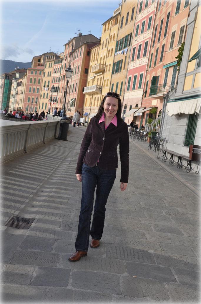 Petra Luisa Kämpfer in Genua